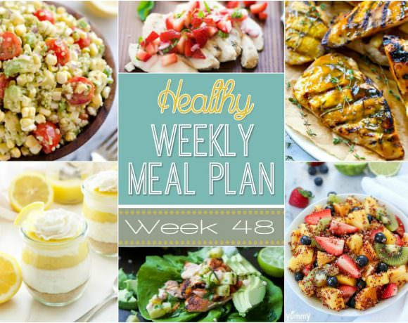 Healthy Meal Plan Week #48