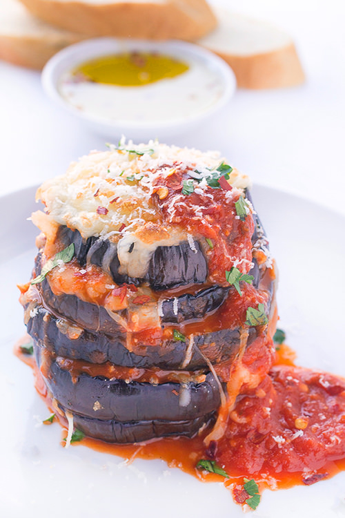 Grilled Eggplant Parmesan | The Lemon Bowl
