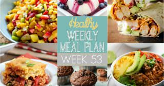Healthy Meal Plan Week #53