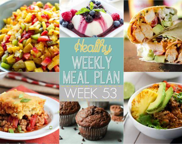 Healthy Meal Plan Week #53