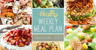 Healthy Meal Plan Week #50