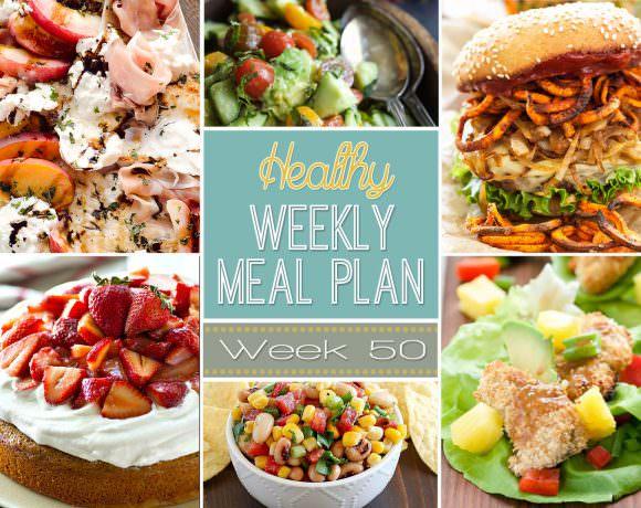 Healthy Meal Plan Week #50