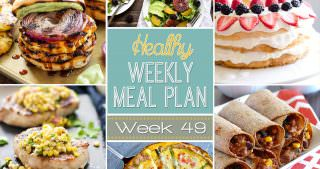 Healthy Meal Plan Week #49