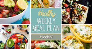 Healthy Meal Plan Week #51
