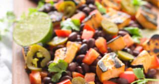 Southwestern Grilled Sweet Potato Salad