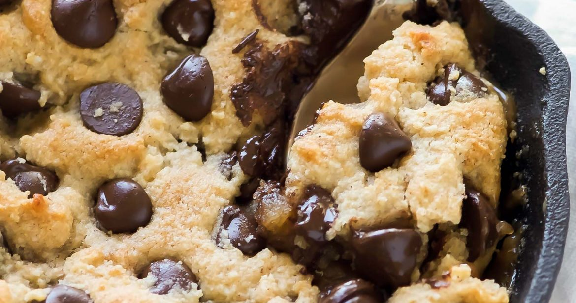 What is better than gooey caramel and a chocolate chip cookie?! Not much! These Deep Dish Salted Caramel Chocolate Chip Blondies are ready in no time and will kick any sugary craving!