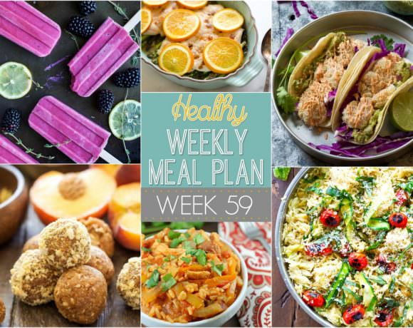 Healthy Meal Plan Week #59