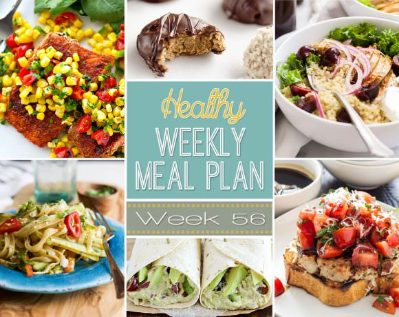 Healthy Meal Plan Week #56