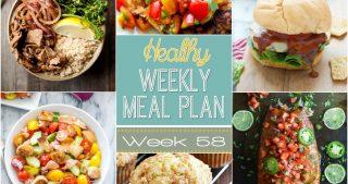Healthy Meal Plan Week #58