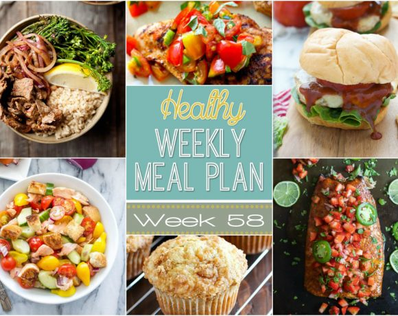 Healthy Meal Plan Week #58