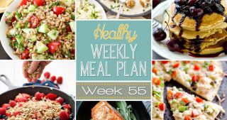 Healthy Meal Plan Week #55
