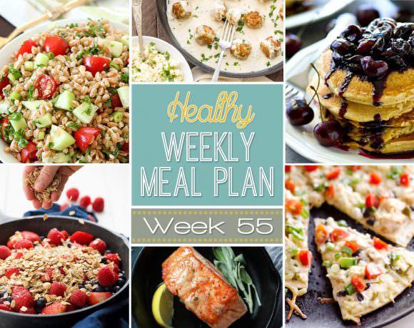 Healthy Meal Plan Week #55
