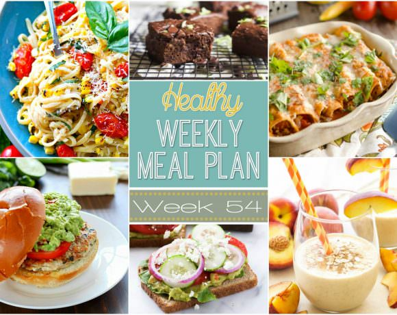 Healthy Meal Plan Week #54
