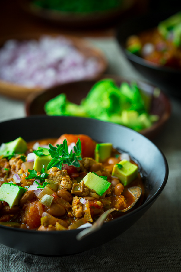 Turkey Chili with Pintos | Healthy Seasonal Recipes