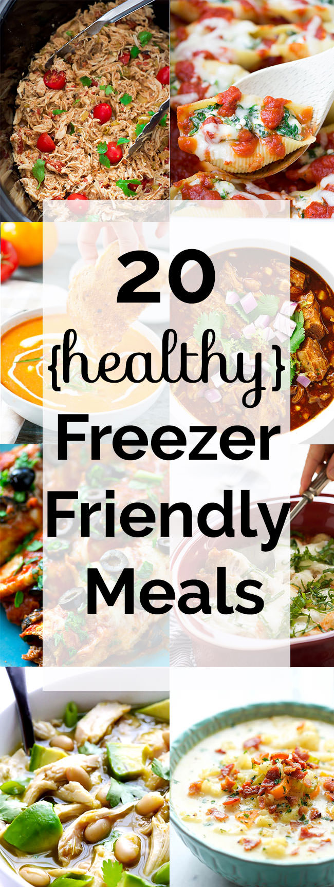 Meals from casseroles to crock pot that are perfect for busy families