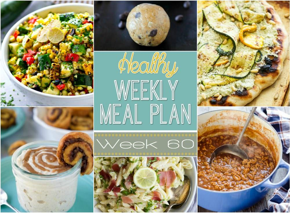 This week for our Healthy Meal Plan, we have a Light V8 Turkey Chili, a grilled zucchini, and ricotta pizza a creamy lemon prosciutto pasta!