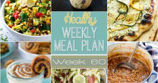Healthy Meal Plan Week #60