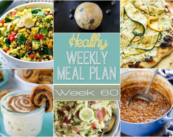Healthy Meal Plan Week #60