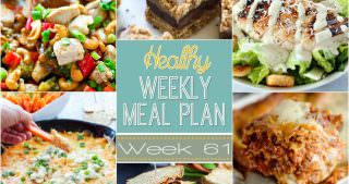 Healthy Meal Plan Week #61