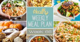 Healthy Meal Plan Week #66