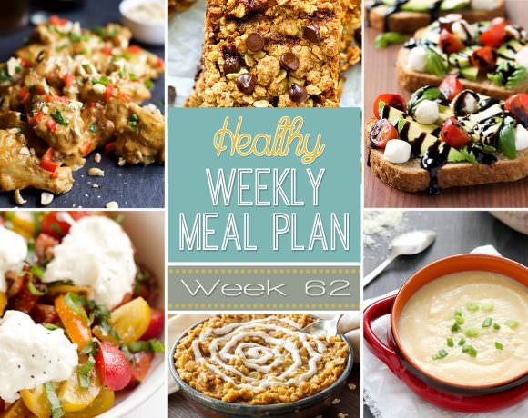 Healthy Meal Plan Week #62