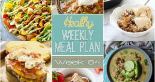 Healthy Meal Plan Week #64