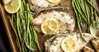 Lemon Rosemary Chicken Sheet Pan Dinner with Crispy Potatoes