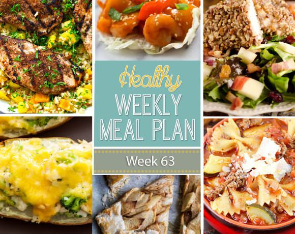 Healthy Meal Plan Week #63
