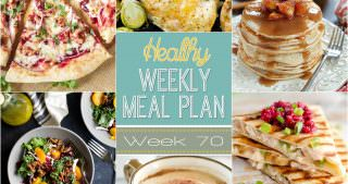 Healthy Meal Plan Week #70