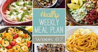 Healthy Meal Plan Week #67