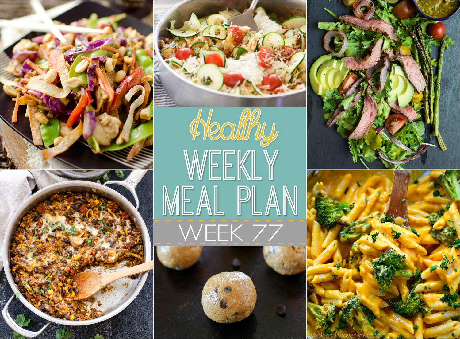 This week's meal plan is filled with winter-comfort dishes; such as butternut squash alfredo pasta, light shrimp friend quinoa, and no bake fudge cookies...because we still need to cure that sweet tooth!