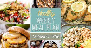 Healthy Meal Plan Week #79