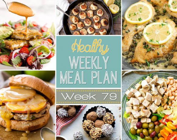 Healthy Meal Plan Week #79