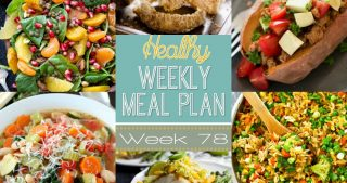 Healthy Meal Plan Week #78
